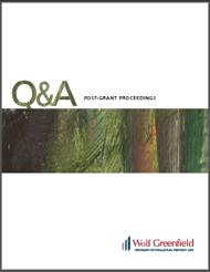 Post-Grant Q&A Booklet