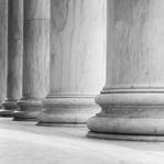 closeup of columns